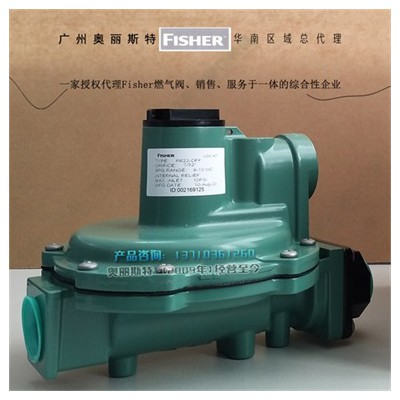 FISHER R622-DFF锅炉低压调压阀