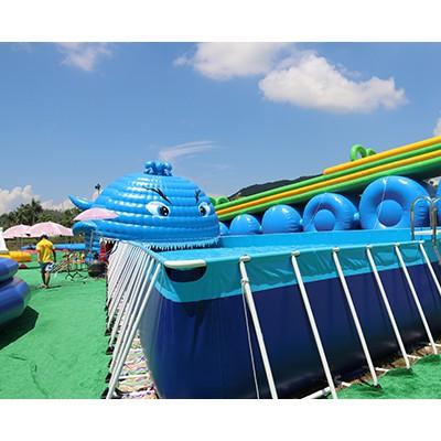 广东中力教你如何使用和维护移动支架水池方法