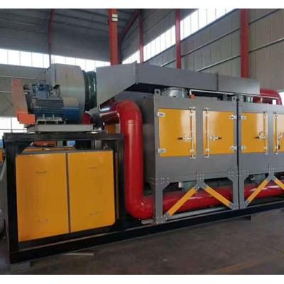 天津催化燃烧废气处理设备@「华晨环保」催化燃烧设备求购