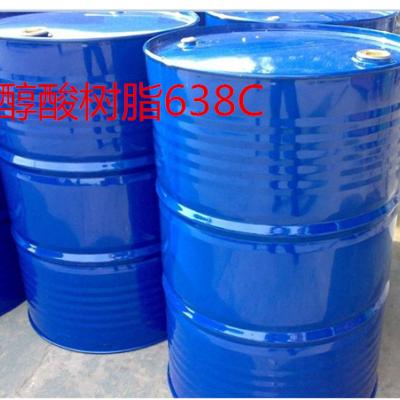 合成脂肪酸改性短油醇酸树脂638C 耐黄变 高光泽 高丰满度