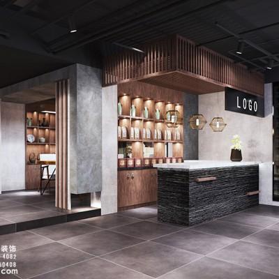 中餐厅设计装修,杭州江干区丁桥中餐厅设计装修效果图