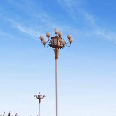 满城5G智慧路灯安全性能对比