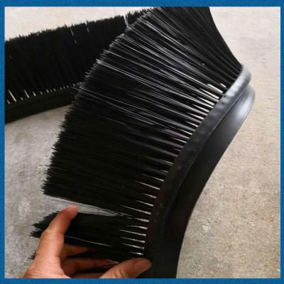 厂家生产黑色软橡胶条工业毛刷条