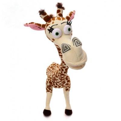东莞莎菲克毛绒玩具厂 定制毛绒玩具卡通长颈鹿公仔 来图定做