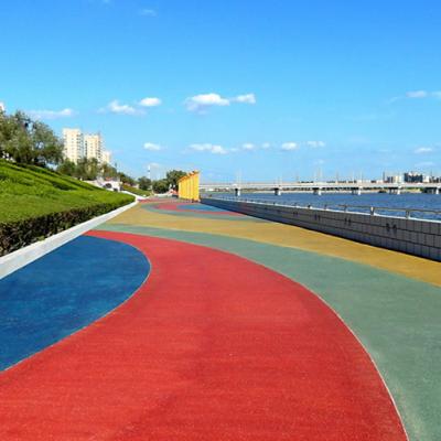 乐山市,彩色压花地坪,艺术地坪,透水混凝土等原材料