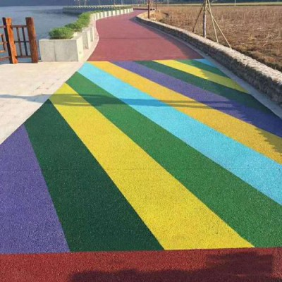 南充市,彩色压花地坪,艺术地坪,透水混凝土等原材料