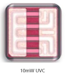 PW优质UVD UVC芯片10mW20*20mil