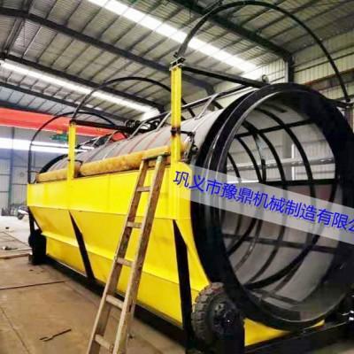 郑州无轴滚筒筛厂家 煤场无轴滚筒振动筛 河沙滚筒无轴筛分机
