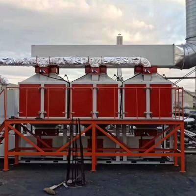 辽宁催化燃烧工业废气净化设备世纪奥瑞催化燃烧设备