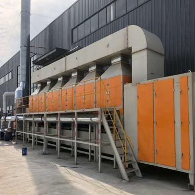 黑龙江催化燃烧废气处理设备世纪奥瑞催化燃烧一体机