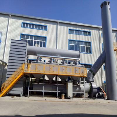 江苏催化燃烧工业废气净化设备世纪奥瑞催化燃烧装置