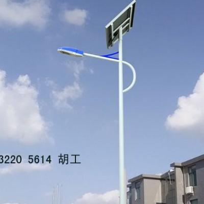 通州6米太阳能路灯农村小区锂电路灯安装配置
