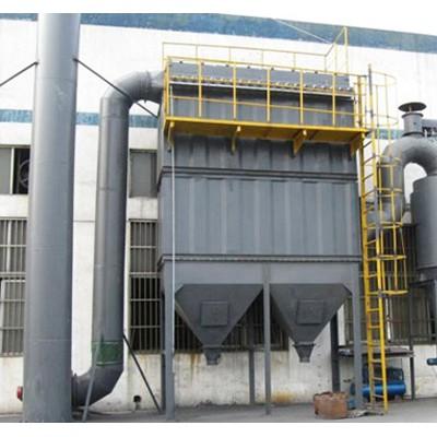 河北脉冲布袋除尘器企业~艺除环保公司厂家加工生物质锅炉除尘器