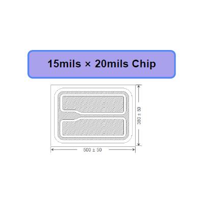 深紫外15*20milUVB UVC杀菌芯片-韩国PW进口