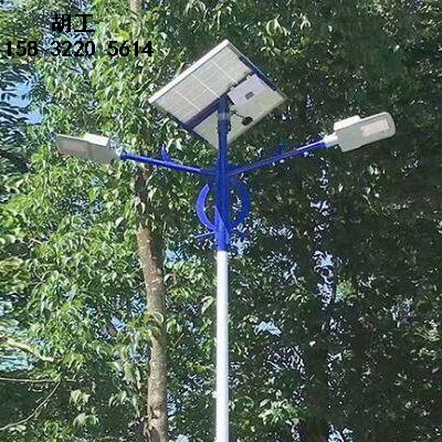 昌黎太阳能路灯厂家定制5米路灯杆安装