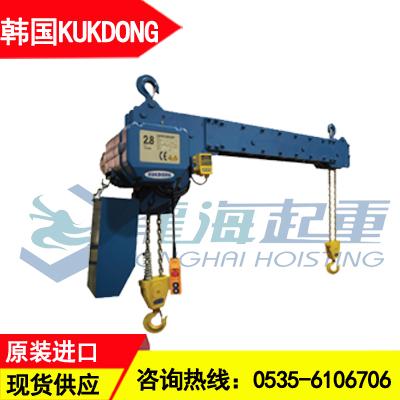 双钩环链电动葫芦KDW-2型 2吨韩国KD双吊钩电动葫芦