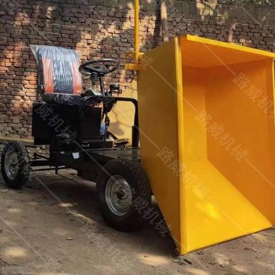 新能源工地电动灰斗车 建筑机械电动灰斗车 座驾式水泥灰斗车