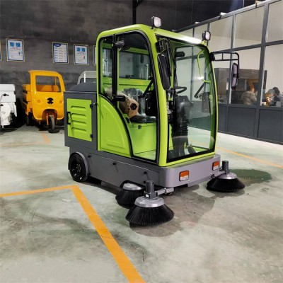 环卫道路扫地车价格 全封闭驾驶式扫地车 省时省力电动清扫车