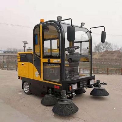 出售四轮电动扫地车 全封闭电动扫地车 半封闭清扫机