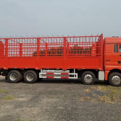 汕德卡国六9米6仓栅载货车销售价格