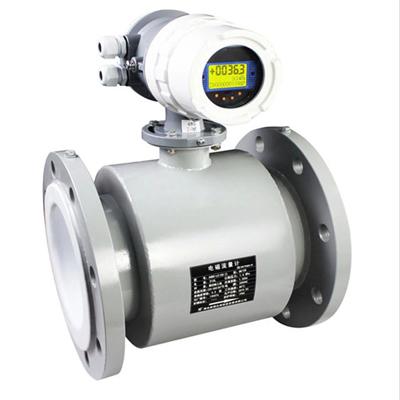 工业耐腐蚀316L聚四氟电磁流量计厂家