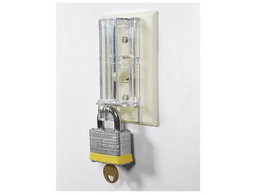 广州锁具贝迪墙面开关安全锁