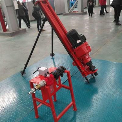 气动小型岩石潜孔钻机 护坡工程潜孔钻机 钢管架简易式潜孔钻机