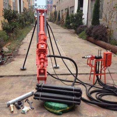 立式潜孔钻机 凿岩钻孔潜孔钻机 微小型山体护坡潜孔钻机
