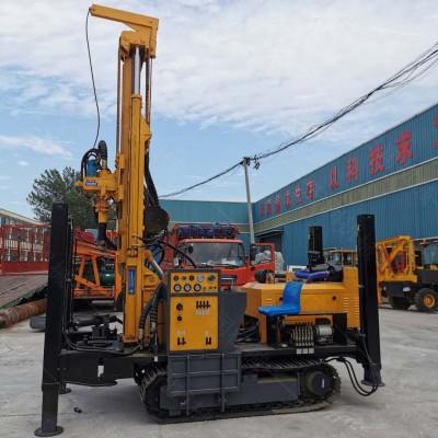 履带式气动水井钻机价格 野外气动水井钻机型号