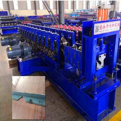 不锈钢角铁压瓦机定制厂家泊头兴和压瓦机 等边角钢设备价格