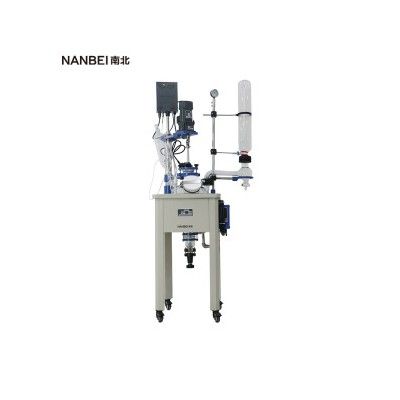 实验室仪器设备10L--200L框架式单层玻璃反应釜