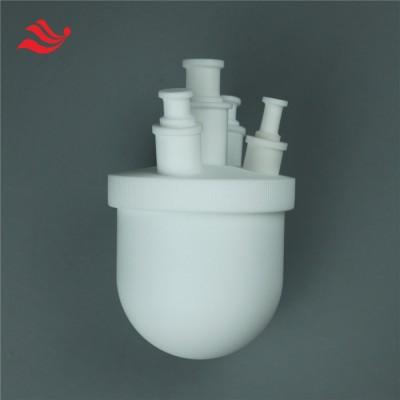 定制各种口径不同颈数的四氟烧瓶